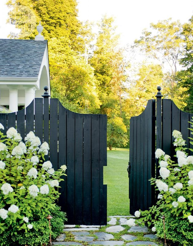 Black Fence Painting Ideas