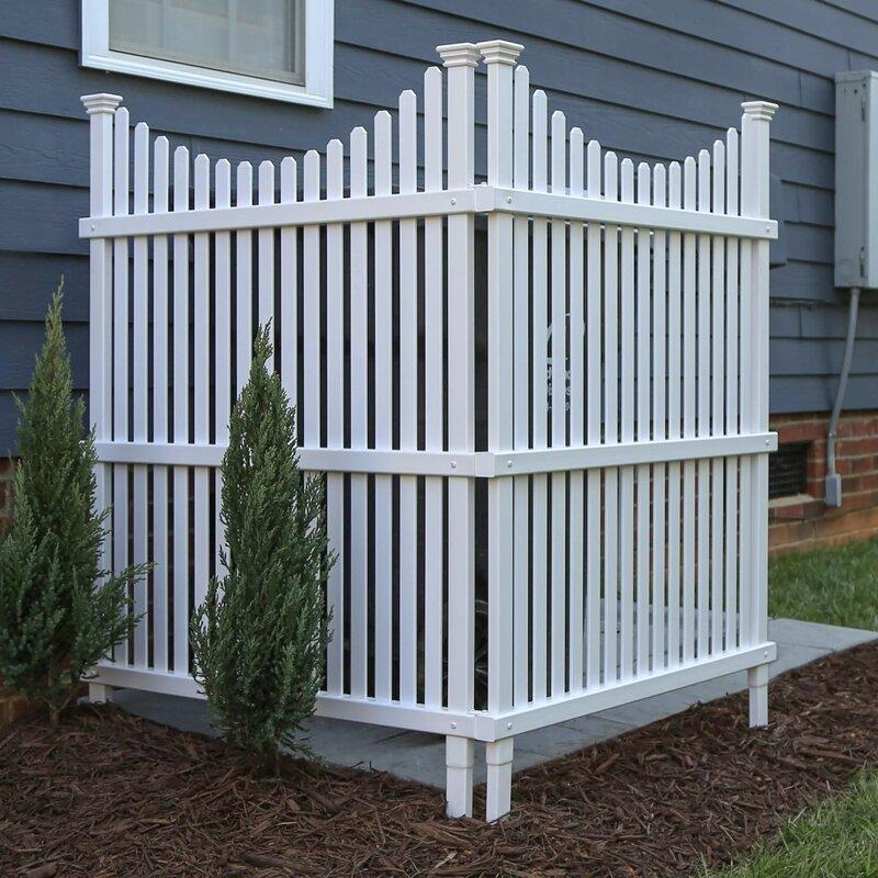 Huntersville Fence Design for AC Units