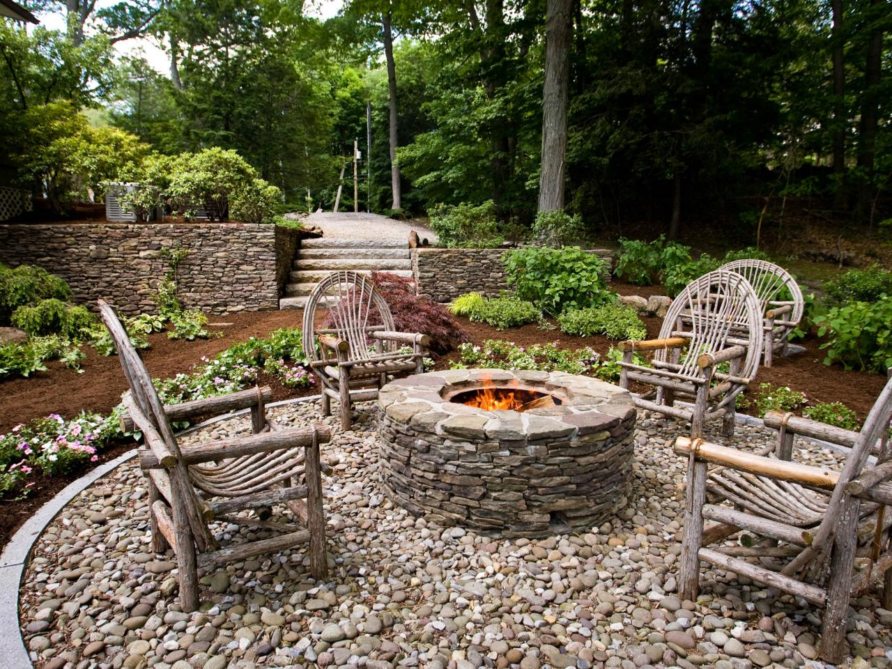 Fit in Patio and Firepit