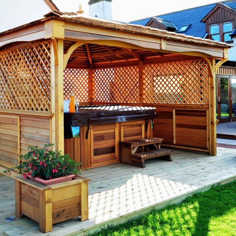 privacy panels outdoor