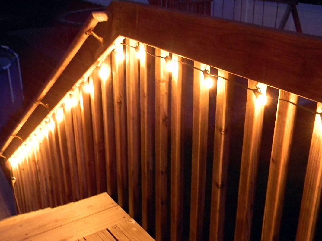 Rope Light for Handrail