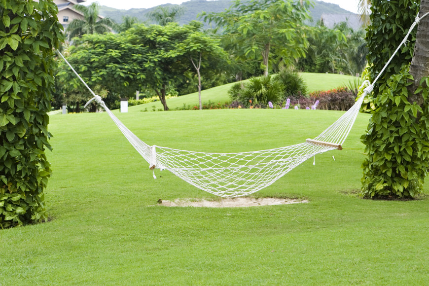 cotton rope hammock swing