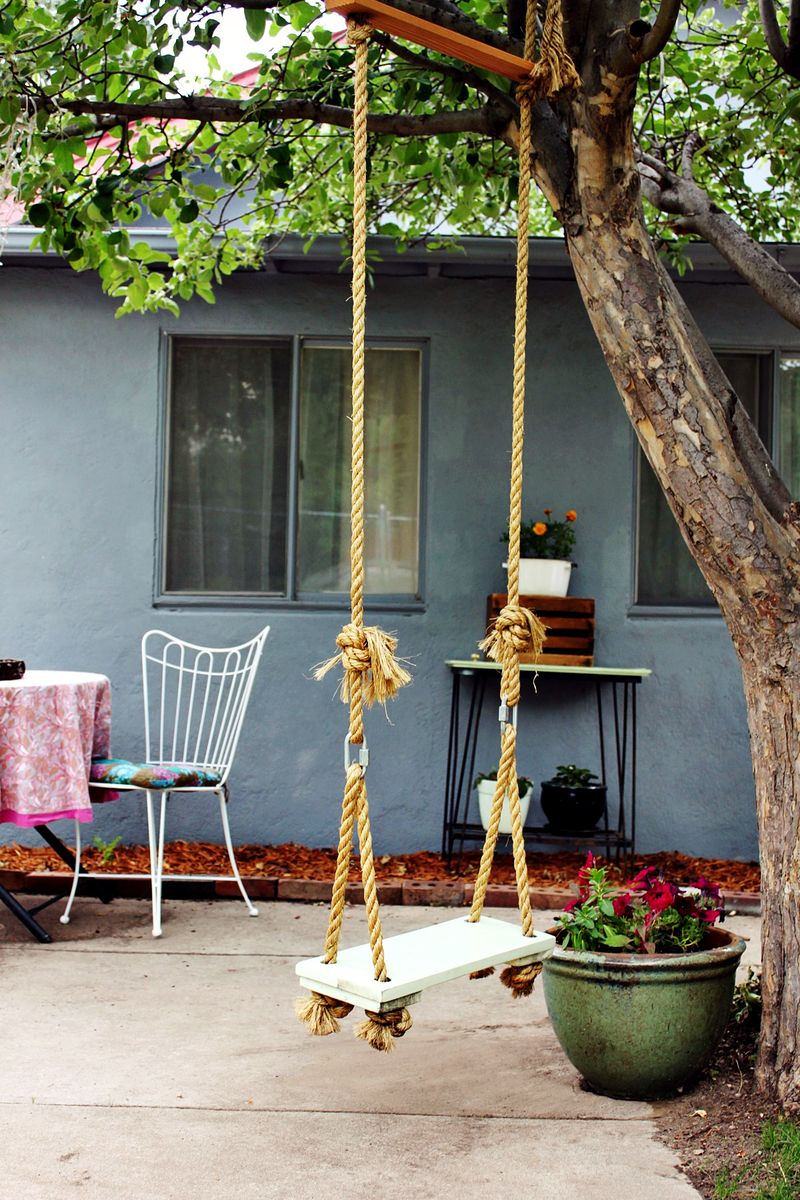 Hang a DIY Swing