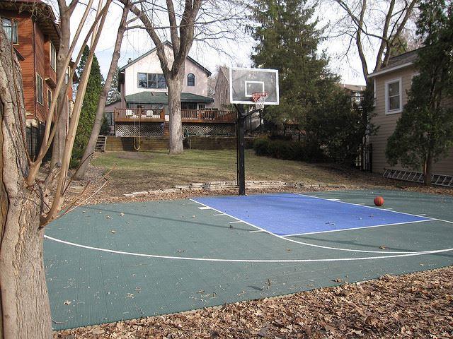 Basic Basketball Court
