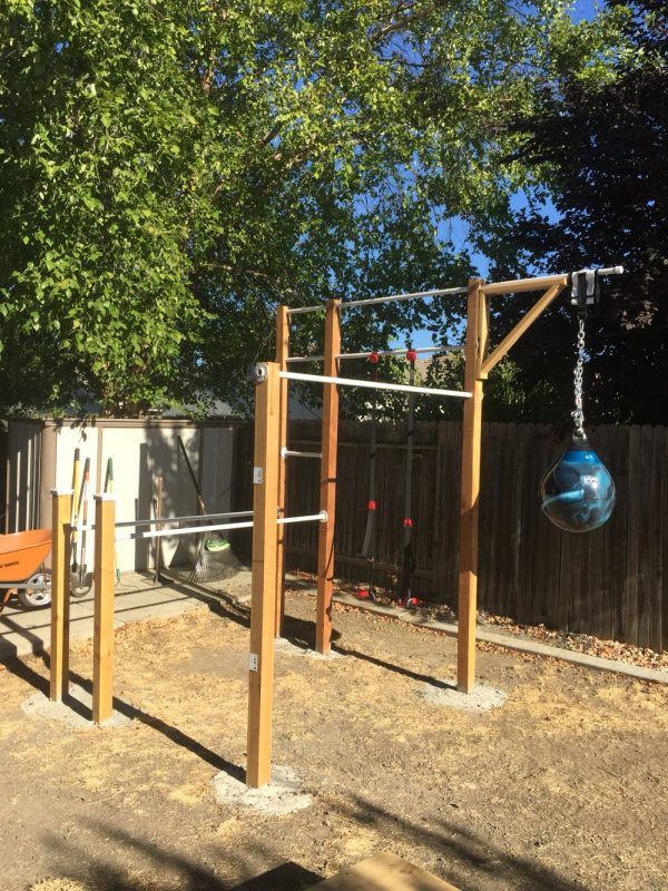 Backyard Jungle Gym