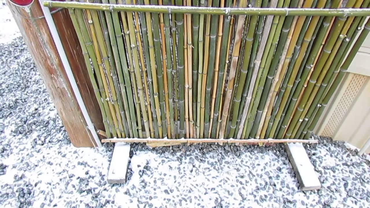 DIY Bamboo Temporary Fencing