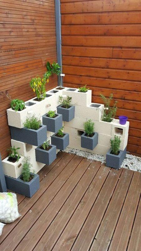 deck garden planter boxes