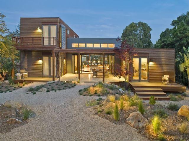contemporary garden lighting ideas