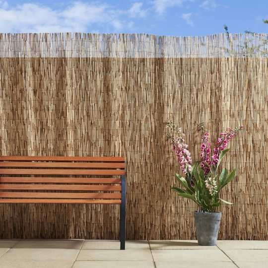bamboo fence for balcony