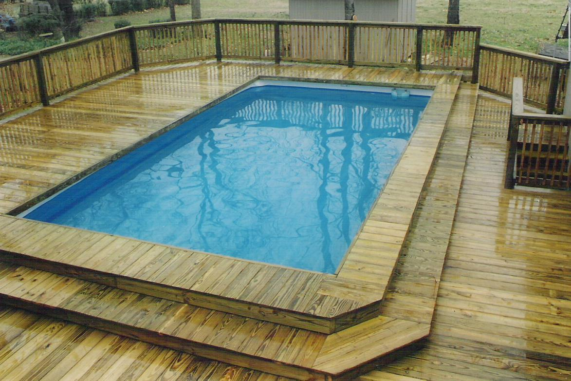 DIY Above-Ground Pool Fence Ideas