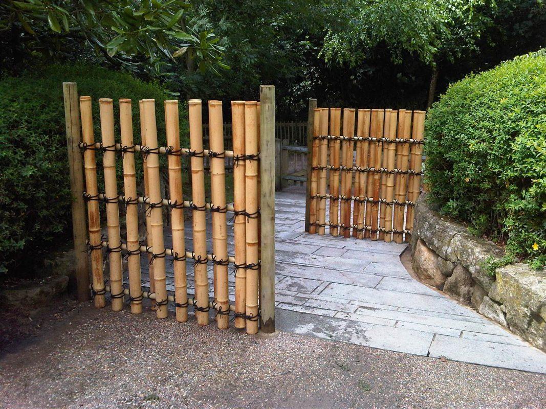 bamboo fence diy homebase