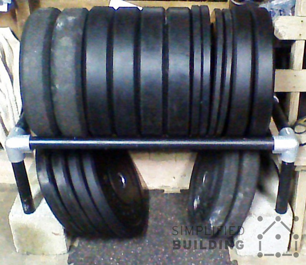Industrial Weight Rack