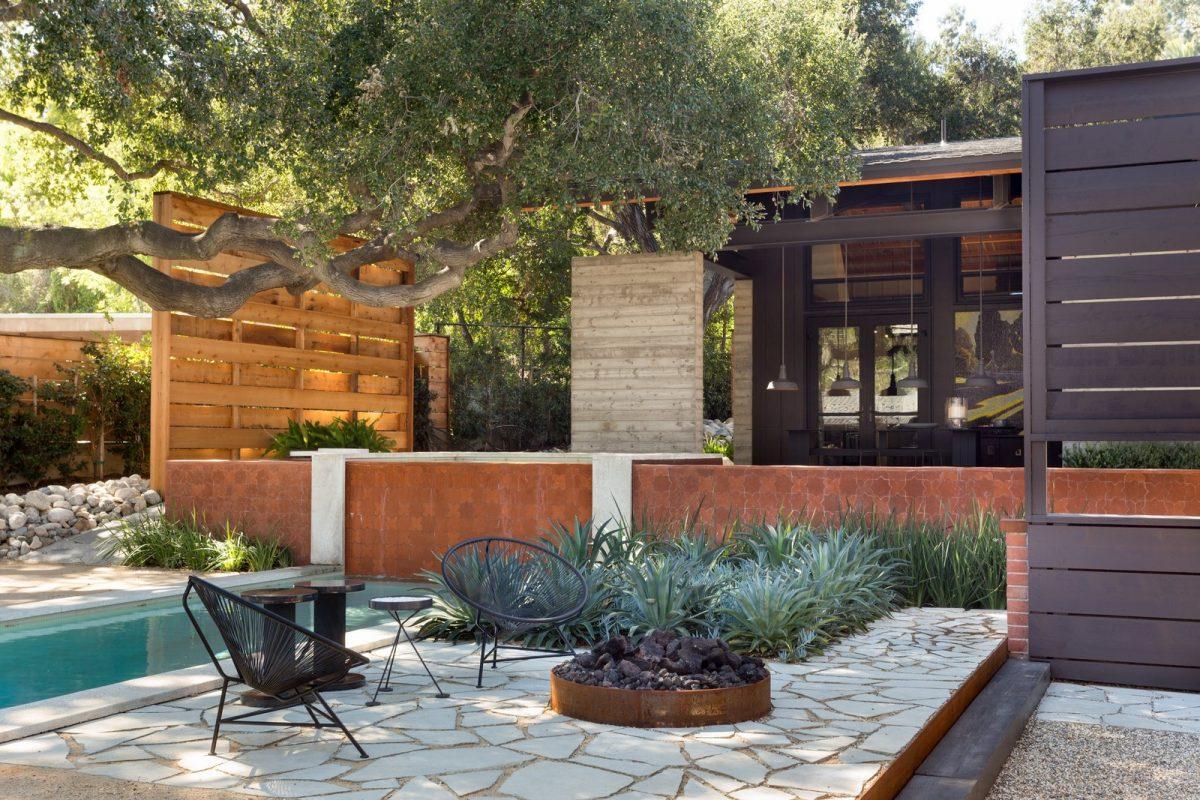 modern backyard shade structures