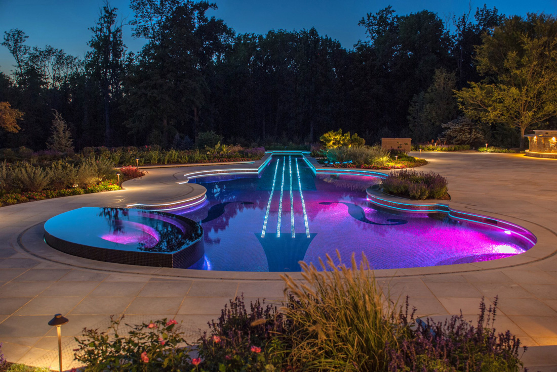 Colorful Swimming Pool Rope Light