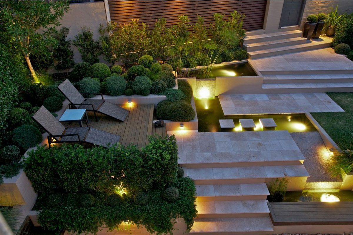 modern outdoor fence ideas