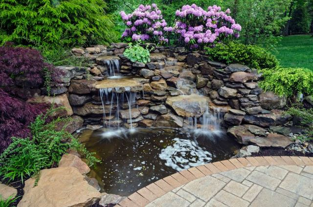 outdoor water features ideas