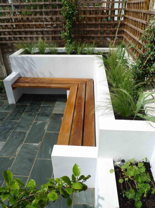 deck garden rustic classic