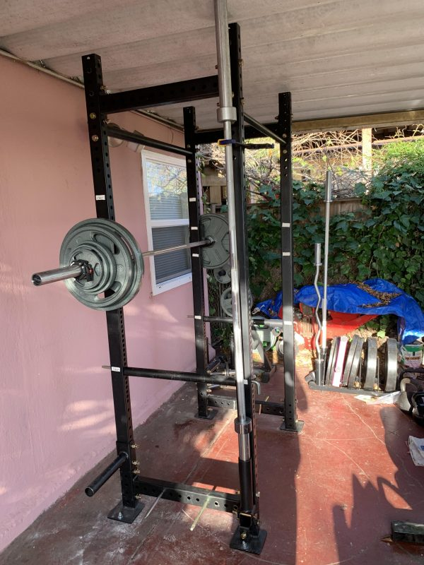 Sturdy Patio Weightlifting