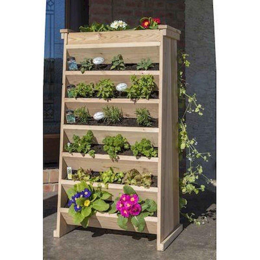 simple deck garden wooden box