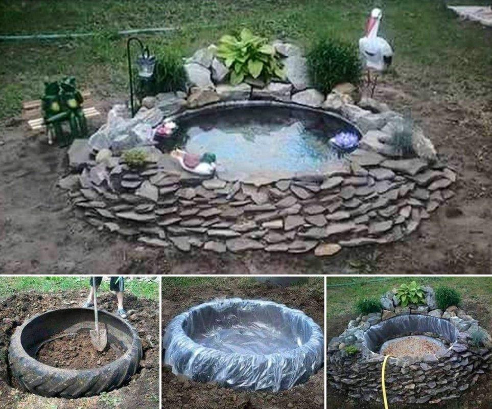 Tier Backyard Duck Pond