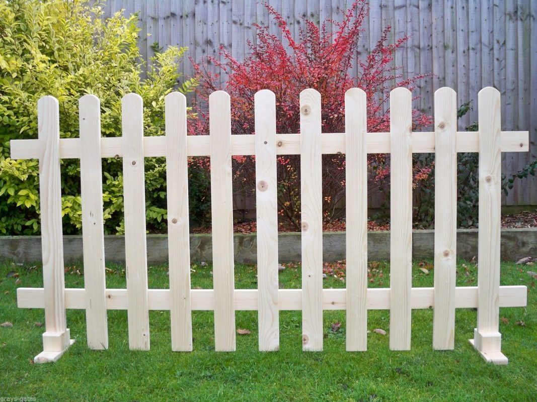 White Temporary Deck Fencing