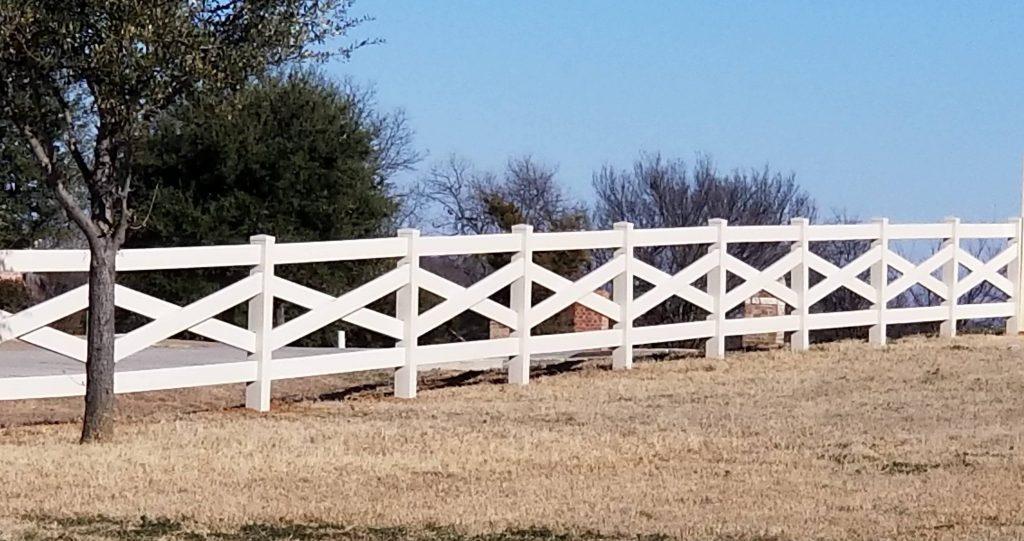 horse fence crossbuck