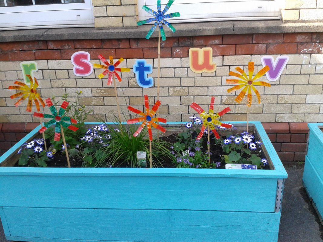 The Flower Bottle School Garden Ideas