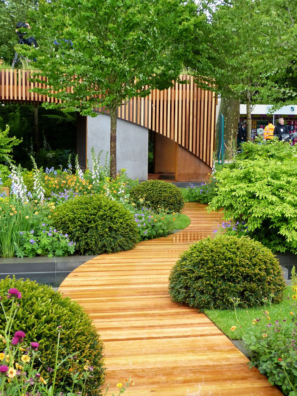 Incorporate Wooden Walkway
