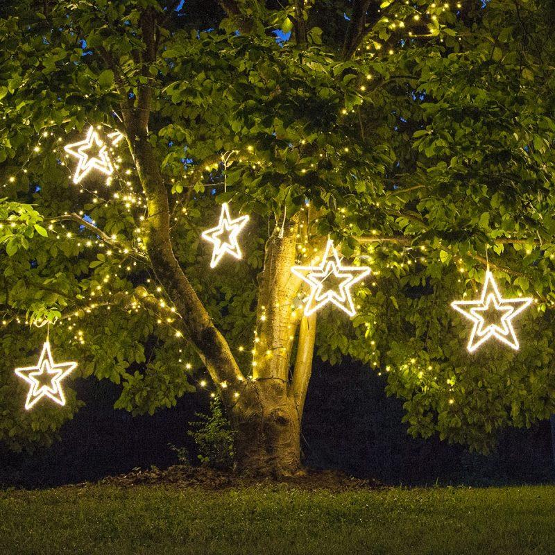 Star Shaped Rope Light