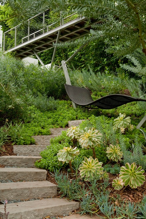 contemporary garden hammocks