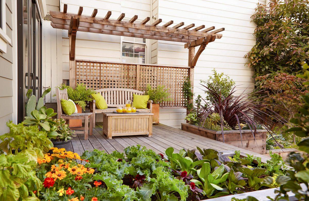 rooftop deck garden designs
