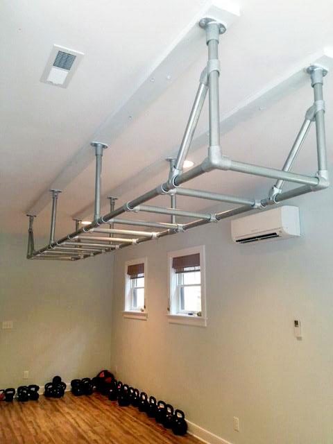 diy indoor monkey bar