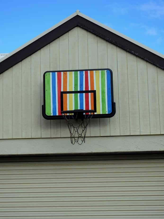 Rainbow Backboard
