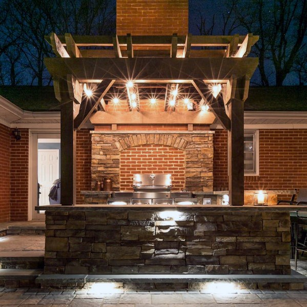 backyard grill patio ideas