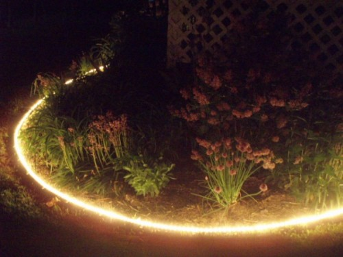 Surround your Lovely Garden with Rope Lights