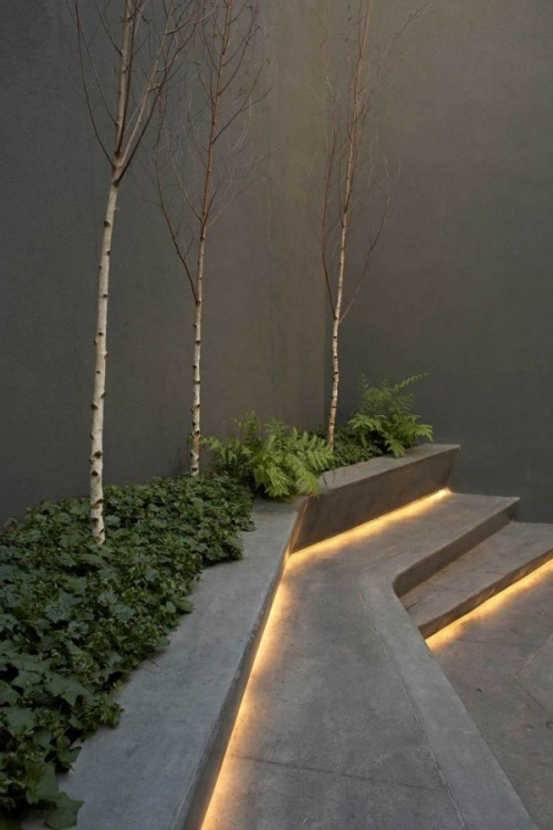 Rope Lighting for Stairs