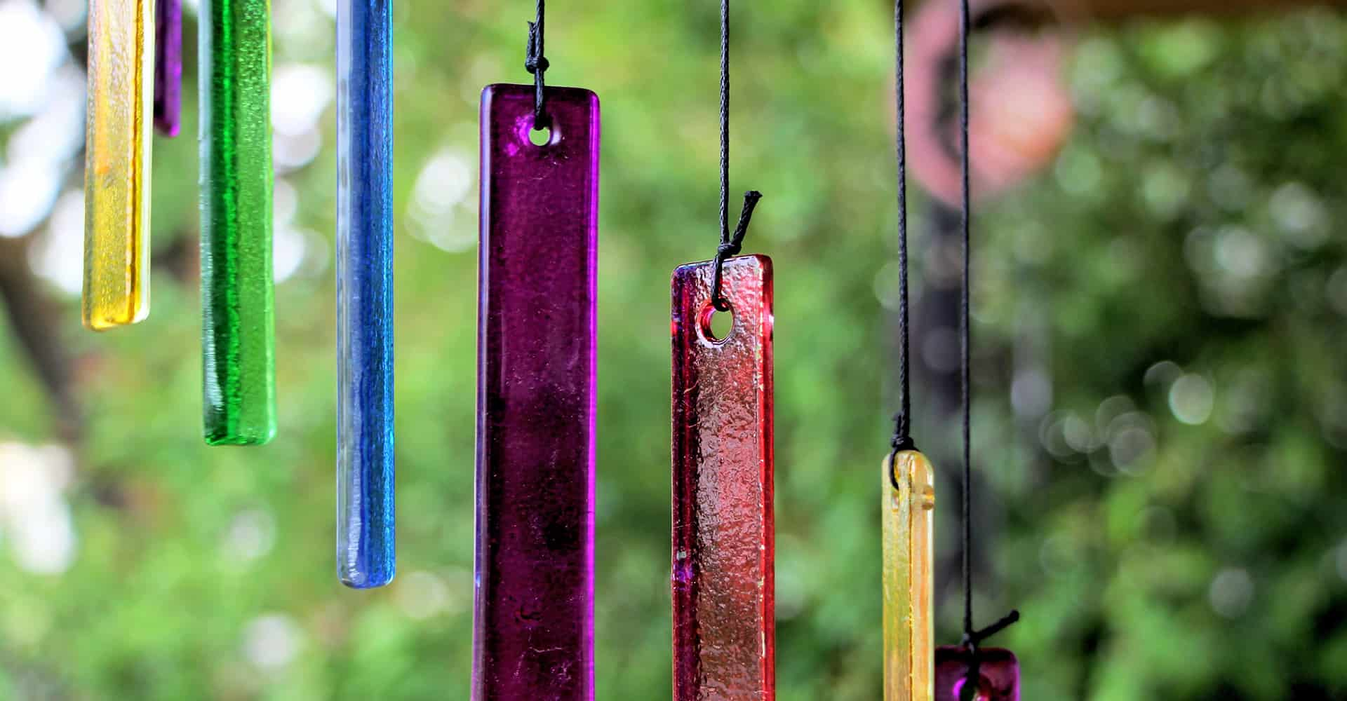 wind chime glass