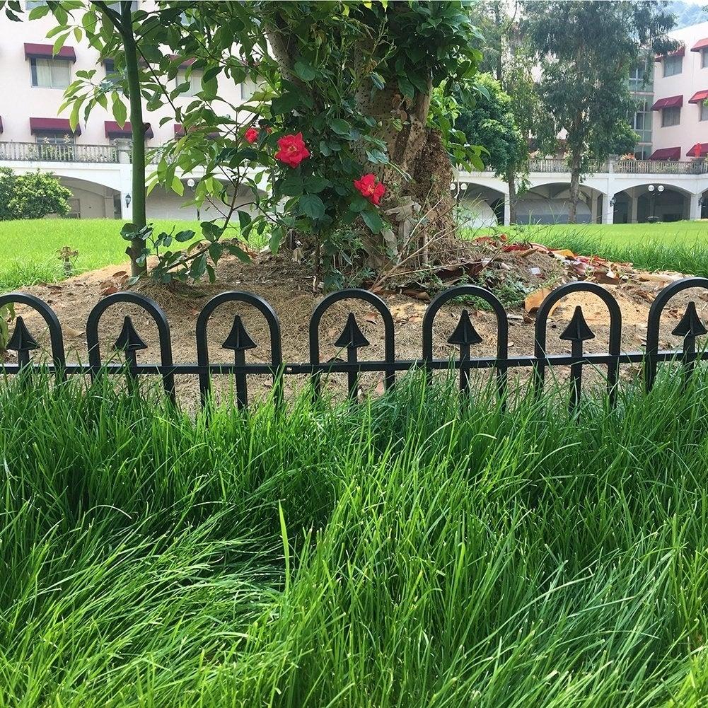 recycled plastic garden fencing uk