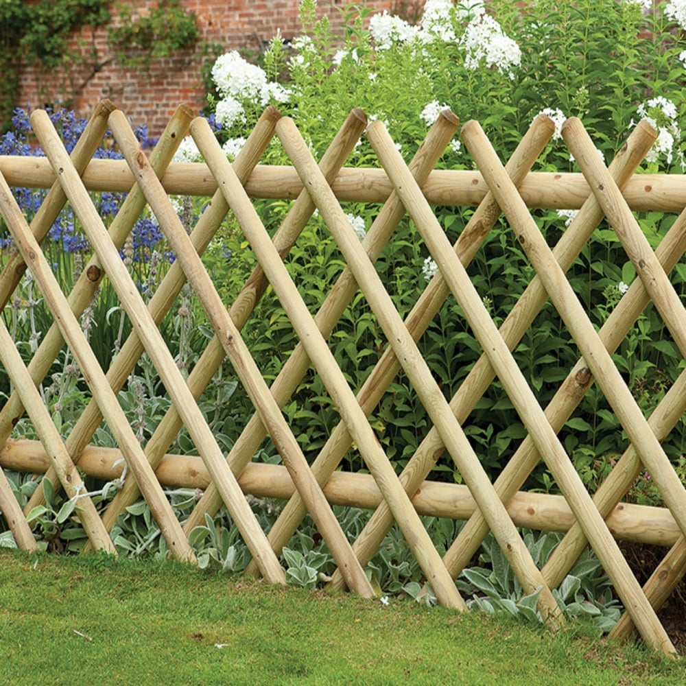 forest garden fence railing
