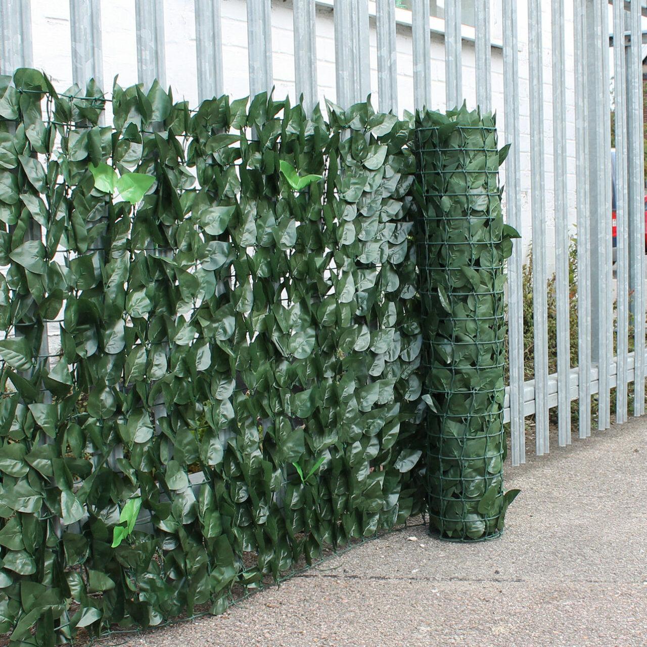 artificial green garden screening