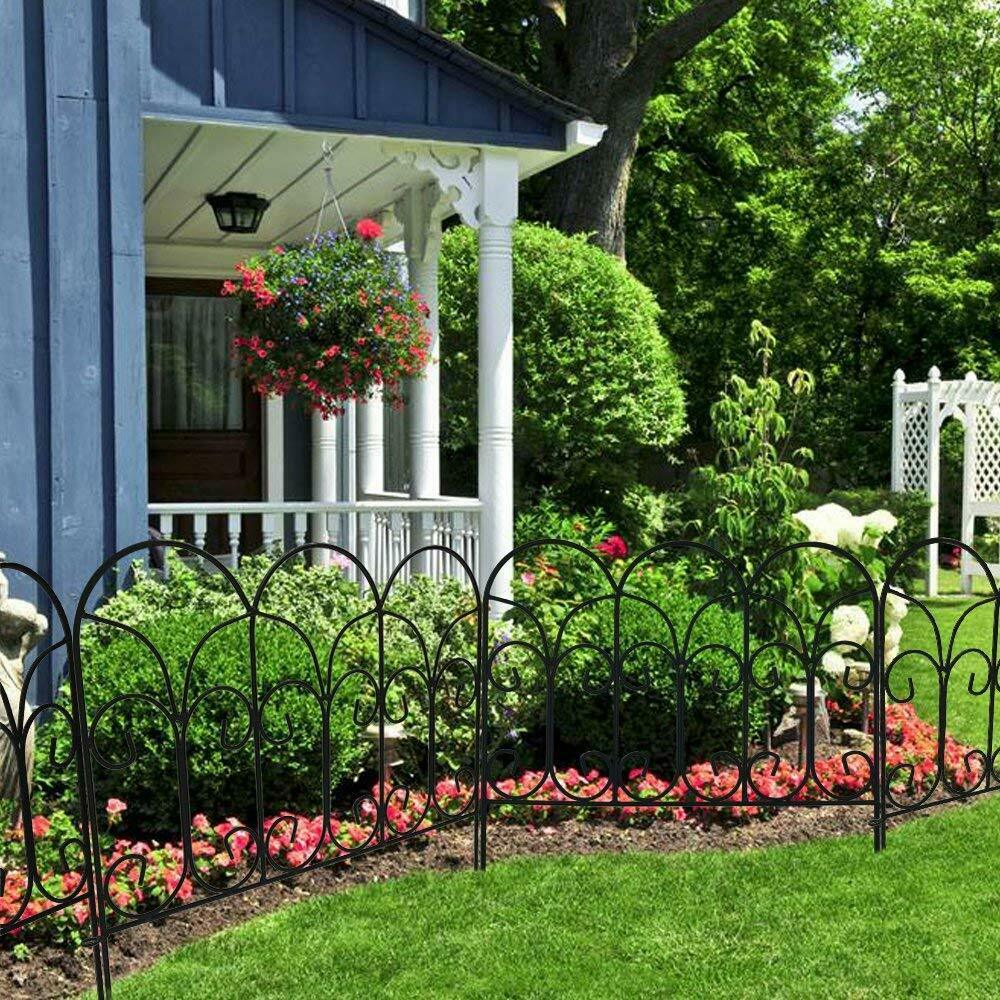 iron garden fence ideas